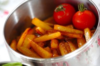 ジャガイモのコチュジャン炒め