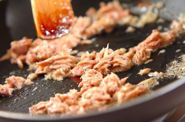 ピーマンの春雨詰め焼きの作り方の手順6
