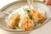 揚げ鶏むね肉のポン酢がけの作り方6