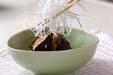 揚げナスのネギソースの作り方7
