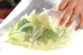 白菜のナムル風の作り方1