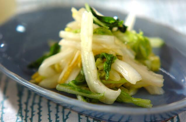 白菜のナムル風
