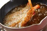 エビのそば米フライの作り方3