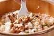 春の蒸し寿司の作り方2