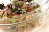 サッパリ枝豆入りつくねの作り方1