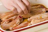 手羽のカリカリ揚げの作り方1
