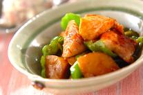 豚とタケノコの甘辛煮