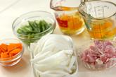 新玉ネギの卵とじの作り方1