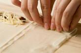 ウナギ春巻きの作り方2