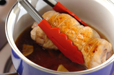 チキンのロール煮の作り方3