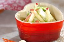 白菜の甘酢和え