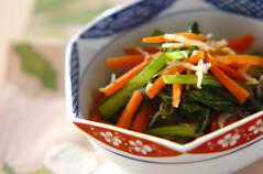 ジャコと小松菜の炒め煮