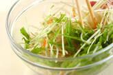 モヤシと白菜のサラダの作り方5