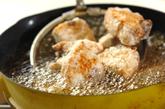 漬けカツオの揚げ物の作り方1