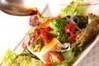 海藻と豆腐のサラダの作り方の手順1