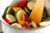 ラタトゥイユ風トマトスープの作り方1