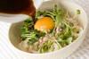 卵まぜまぜ麺の作り方の手順2