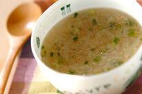 カニのトロミスープ