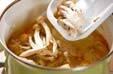 きんぴらみそ汁の作り方2