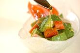 アボカドとトマトのサラダの作り方1