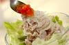 「塩トマト」でサッパリ冷しゃぶサラダの作り方の手順4