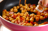 ヒヨコ豆のチリ炒めの作り方2