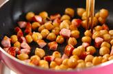 ヒヨコ豆のチリ炒めの作り方1