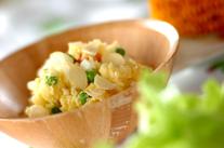 ニンニクチップのポテトサラダ