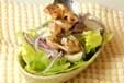 鶏肉とレタスのサラダの作り方2