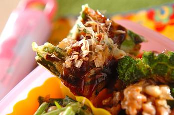 山芋のモチモチ焼き
