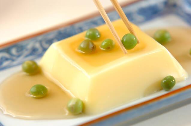 卵豆腐のだしあんかけの作り方の手順4