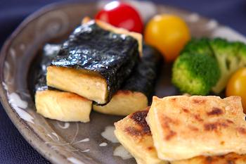 豆腐のグリル焼き