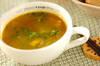キャベツとベーコンのカレースープの作り方の手順