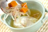 ポーチドエッグのスープの作り方3