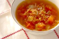 トマトのコンソメスープ