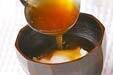 煮卵のトロミ汁の作り方の手順5