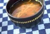 長芋の梅風味汁