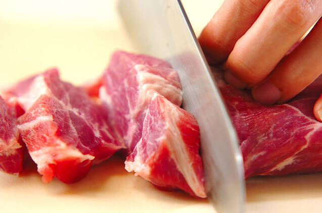豚のみそ漬け焼きの作り方の手順1