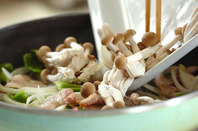 豚肉のマヨジンジャー炒めの作り方の手順7