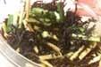 ヒジキとゴボウのサラダの作り方2