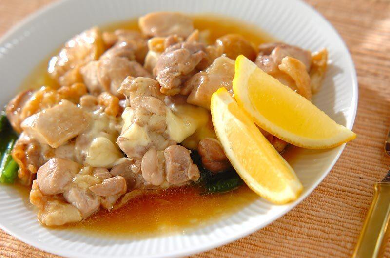 鶏のレンジチーズ焼き