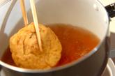 ひりょうずとゼンマイの煮物の作り方1