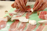 エリンギの豚肉巻き甘酢あんの作り方1