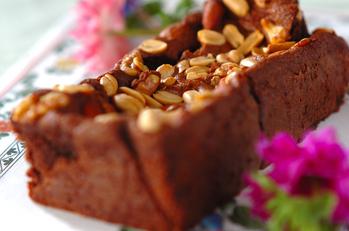 ねっとり里芋のチョコパウンドケーキ