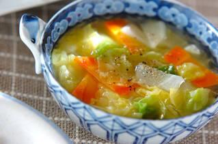 春キャベツのスープ