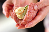 ポテサラ入りハンバーグの作り方1