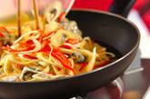 カキ入りふんわり卵焼きの作り方7