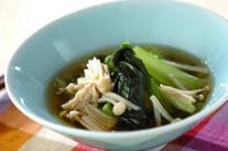 優しい味 小松菜の煮びたし