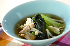 小松菜の煮浸し