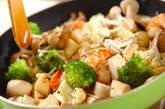 キノコのダイエット炒めの作り方4